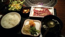 崎本大海 公式ブログ/焼肉定食 画像1