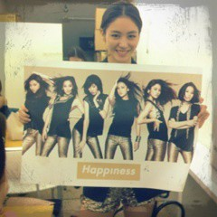 Happiness 公式ブログ/限定ポスター!!KAEDE 画像1