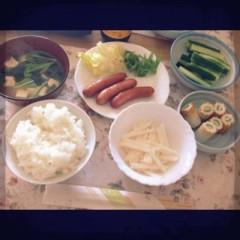 Happiness 公式ブログ/朝食は…☆MAYU 画像1