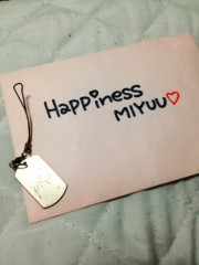 Happiness 公式ブログ/ストラップ MIYUU 画像1