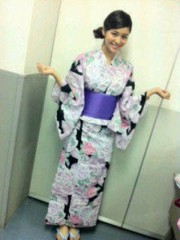 Happiness 公式ブログ/浴衣〜!!!KAEDE 画像1