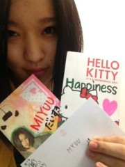 Happiness 公式ブログ/手紙 MIYUU 画像1