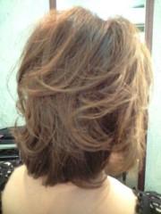 野上文代 公式ブログ/ヘアカラーと前髪カット 画像1