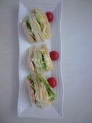 野上文代 公式ブログ/昼食 画像1