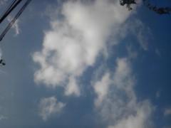 大峰渓 公式ブログ/今日の空は・・ 画像1