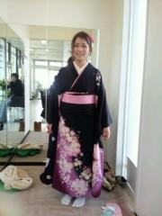 小林ひろみ 公式ブログ/振り袖に着替えるまで 画像2