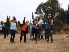 神取忍 公式ブログ/「九州馬の旅」出発出陣式!(障がい者乗馬啓発の旅) 画像1