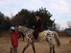 神取忍 公式ブログ/「九州馬の旅」出発出陣式!(障がい者乗馬啓発の旅) 画像2
