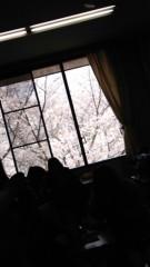大西颯季 公式ブログ/教室の窓から桜 ** 画像1