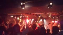 賀川照子 公式ブログ/16日拳を突き上げろ 画像1