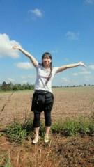 賀川照子 公式ブログ/18日帰国の日 画像1