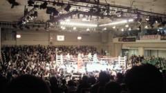 賀川照子 公式ブログ/6日タイトルマッチ 画像1