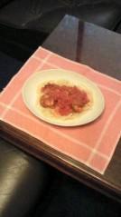 賀川照子 公式ブログ/27日パスタを食べよう 画像1