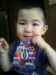 ジャガー横田 公式ブログ/朝から菓子かよっ!!(-_-;) 画像1