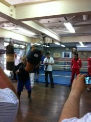 ジャガー横田 公式ブログ/私の友人は女子プロボクサー!( ^_^)v 画像2