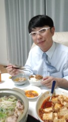 ジャガー横田 公式ブログ/家族で食事! 画像1