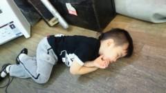 ジャガー横田 公式ブログ/普通・・・ここで寝るかなー(-_-; ) 画像1