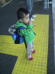 ジャガー横田 公式ブログ/幼稚園の帰り道!(*^ ー^)ノ♪ 画像1