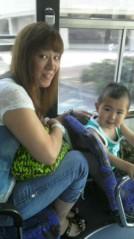 ジャガー横田 公式ブログ/busに乗って…(^-^)/(^^)/ 画像1