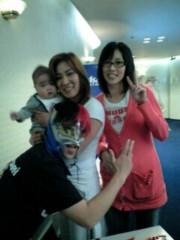 ジャガー横田 公式ブログ/私が抱いてるのは…? 画像1