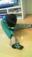ジャガー横田 公式ブログ/体が硬くて!!(^_^;) 画像1