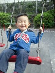ジャガー横田 公式ブログ/公園での遊び方も激しくなって来たァ!(>_<) 画像1