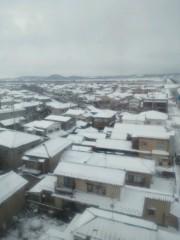 ジャガー横田 公式ブログ/雪一面の景色が・・・\(^^) / 画像1