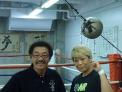ジャガー横田 公式ブログ/私の友人は女子プロボクサー!( ^_^)v 画像1