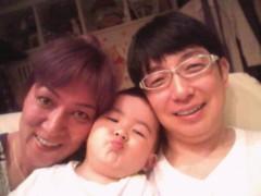 ジャガー横田 公式ブログ/赤鬼+大維志とパパ!!(*^ ▽^)/★* ☆♪ 画像1