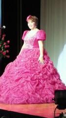 ジャガー横田 公式ブログ/鮮やかなピンクのドレス・・・( ^-^)v 画像1