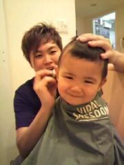 ジャガー横田 公式ブログ/モヒカンくん!!       (' ∇`) 画像1