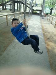ジャガー横田 公式ブログ/公園での遊び方も激しくなって来たァ!(>_<) 画像2