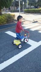 ジャガー横田 公式ブログ/三輪車!(*^_^*) 画像2