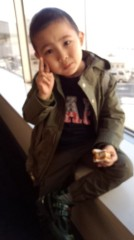 ジャガー横田 公式ブログ/大阪に着きました。(^-^)v 画像2