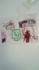 ジャガー横田 公式ブログ/頑張って描きました!(^.^)b 画像2