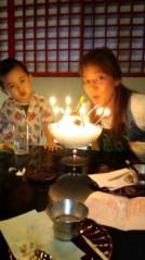 ジャガー横田 公式ブログ/ママ友家族からのお祝い会!!(T_T) 画像1