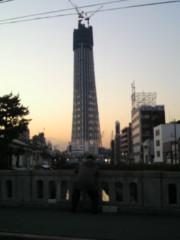 ジャガー横田 公式ブログ/スカイツリー…(^^)/ 画像2