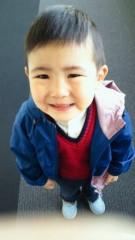 ジャガー横田 公式ブログ/こんな顔で「抱っこ!」と言われちゃうと・・・(; ´∩`) 画像2
