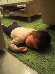 ジャガー横田 公式ブログ/芝生で昼寝…Zzz ・・・(^^) 画像1