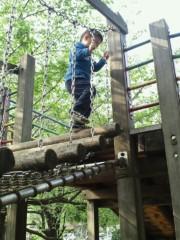 ジャガー横田 公式ブログ/公園での遊び方も激しくなって来たァ!(>_<) 画像3