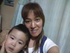 ジャガー横田 公式ブログ/私達も仲良くテレビ見ました!!(^_ -)(^^) 画像1