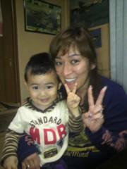 ジャガー横田 公式ブログ/幸せな親子の顔…見て下さい!( ^-^)b(^^)/ 画像1