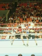 ジャガー横田 公式ブログ/WBA世界スーパーフライ級タイトルマッチ! 画像1