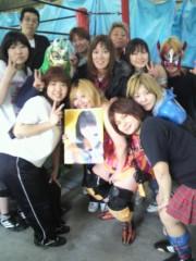 ジャガー横田 公式ブログ/JWP女子プロレスの後輩達と…ハイ!チーズ!! 画像1