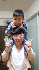 ジャガー横田 公式ブログ/家族でかんぱーい!!(^^) /\(^^) 画像3