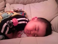 ジャガー横田 公式ブログ/今頃寝てる…Σ( ̄◇ ̄* )エェッ 画像1