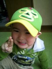 ジャガー横田 公式ブログ/イエローグリーンのキャップ!( ^-^)b 画像1