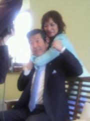 ジャガー横田 公式ブログ/政治家の先生…絞めちゃった!?(~_ ~;) 画像1