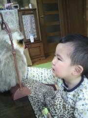 ジャガー横田 公式ブログ/フクロウさんとお話ししてるの! ?(*^^*) 画像1