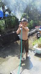 ジャガー横田 公式ブログ/暑い日は・・・(*^_  ') 画像1